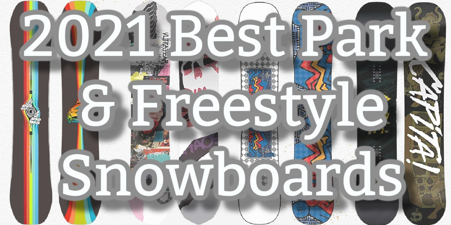 Best Park Snowboards for 2021 Header Image