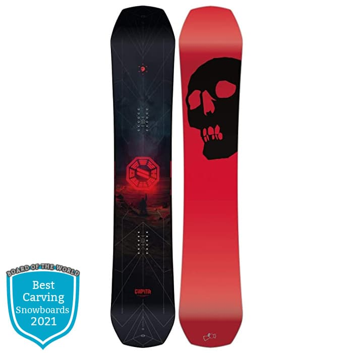 Capita Black Snowboard of Death 2021
