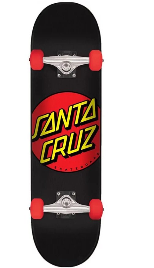 Santa Cruz Classic Dot Complete 7.25 (Mid-size Deck)