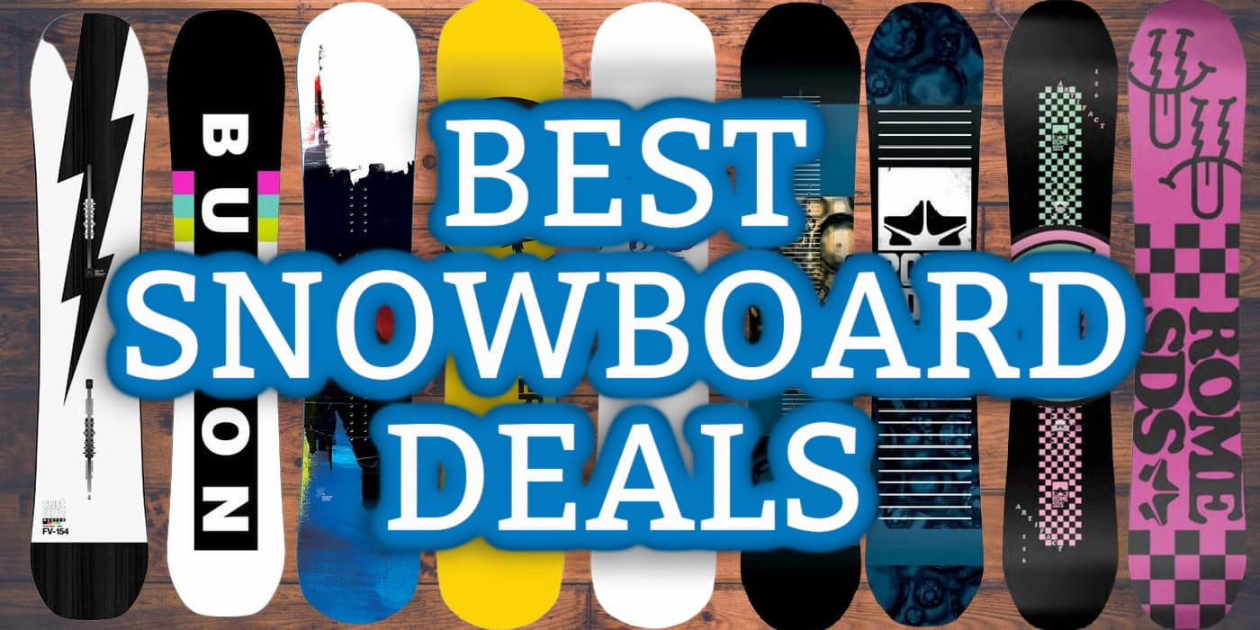 The best snowboard deals right now