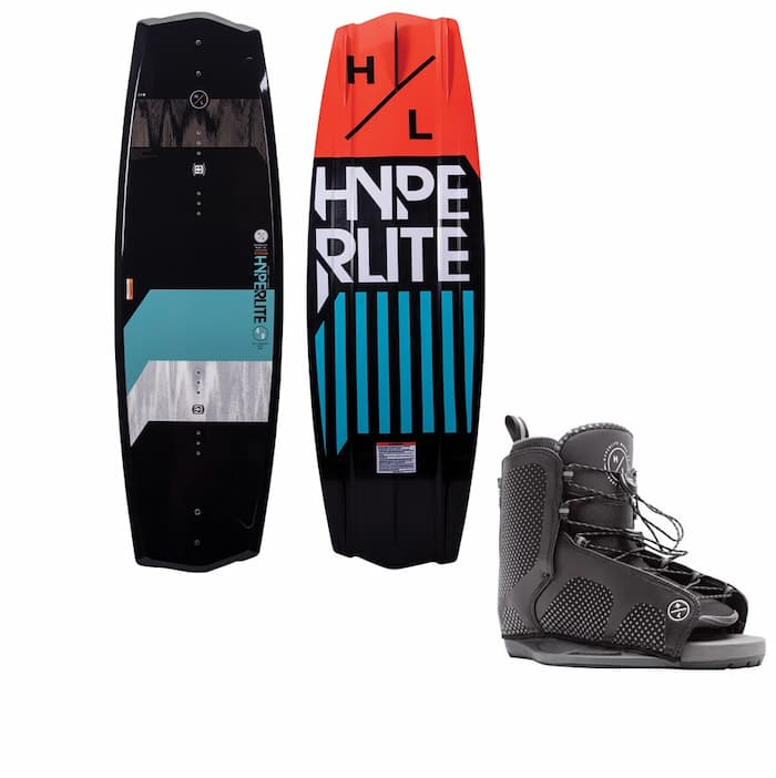 Hyperlite State 2.0 Wakeboard With Remix Bindings 2021