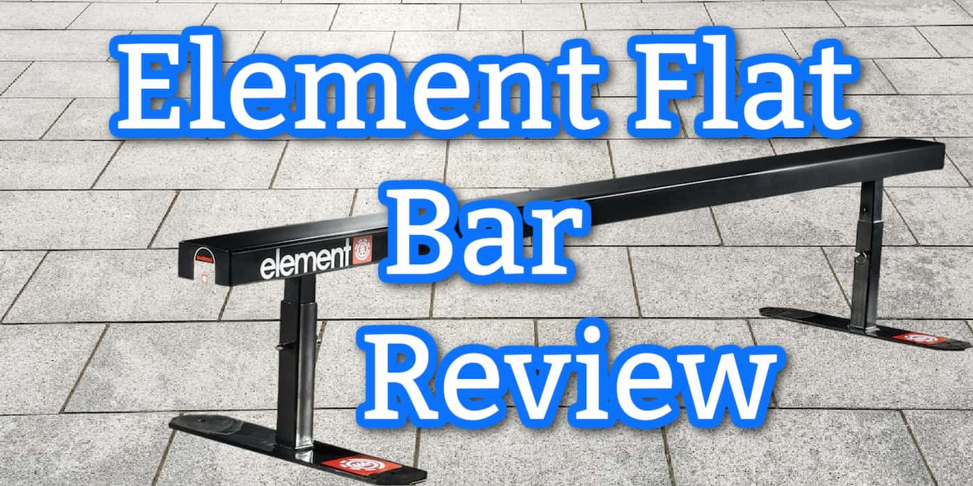 Element Flat Bar Skate Rail Review
