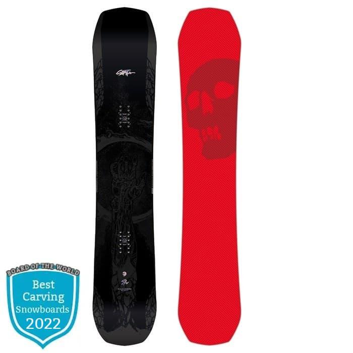 Capita Black Snowboard of Death 2022