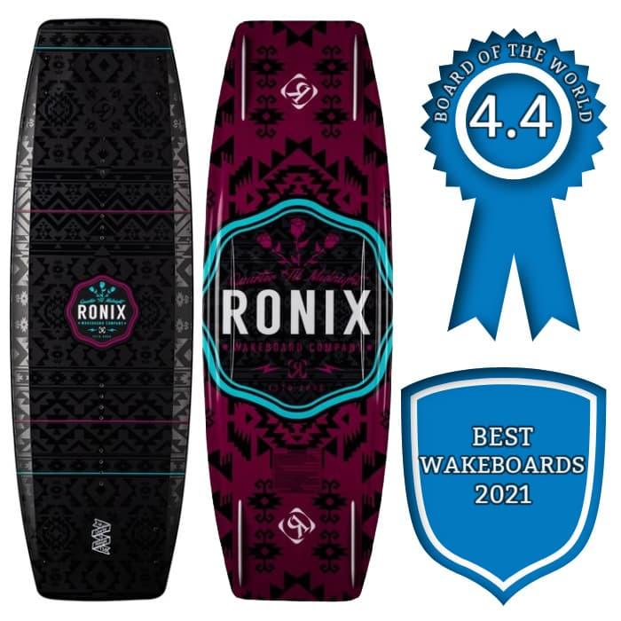 Ronix Quarter 'Til Midnight Best Wakeboards Award 2021