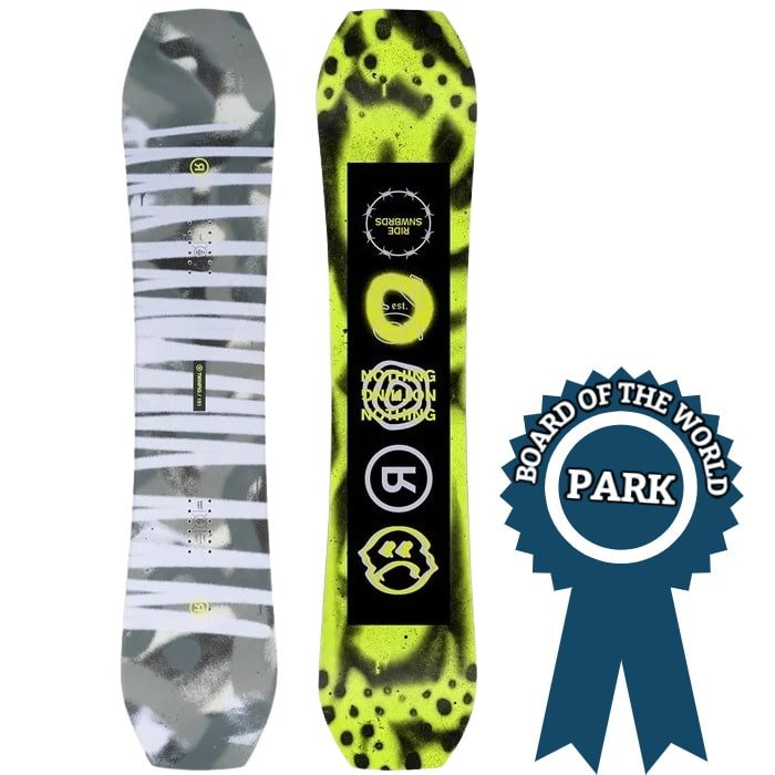 Ride Twin Pig Park Snowboards