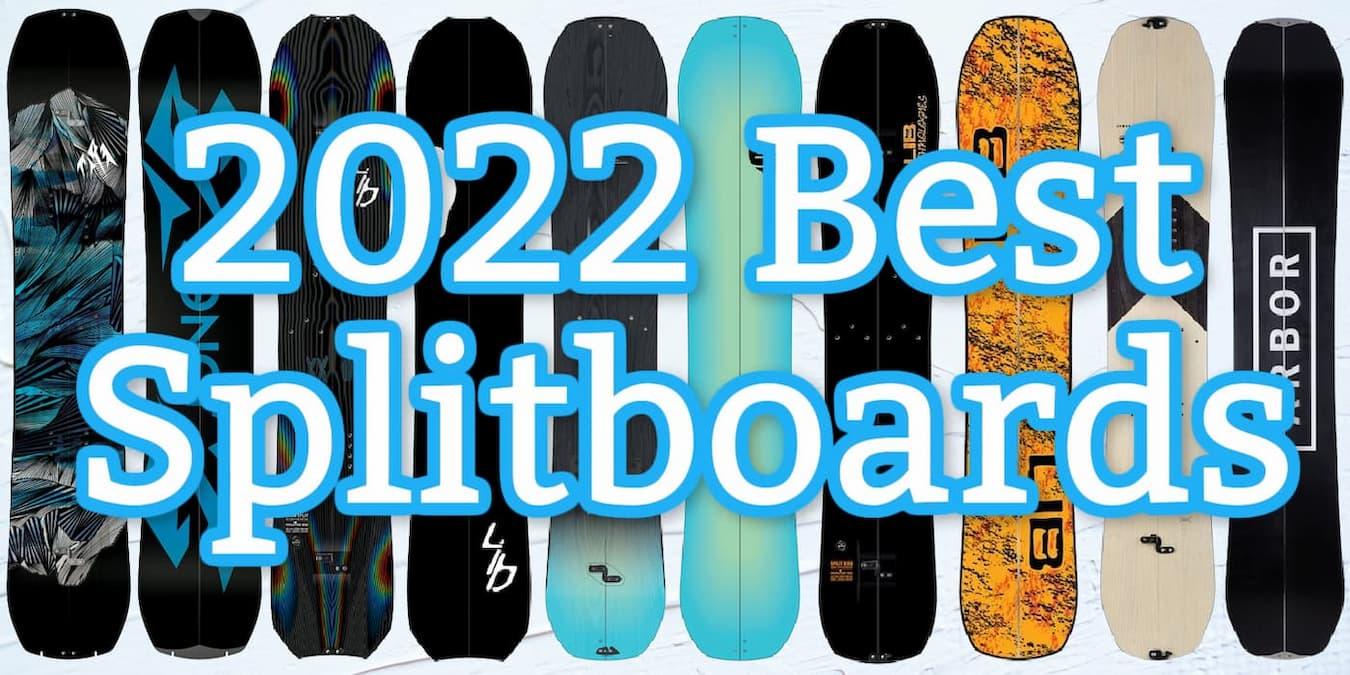best 2022 splitboards