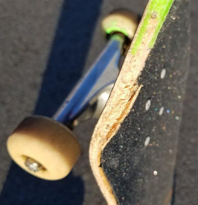 Lithe Nex Deck Chipping