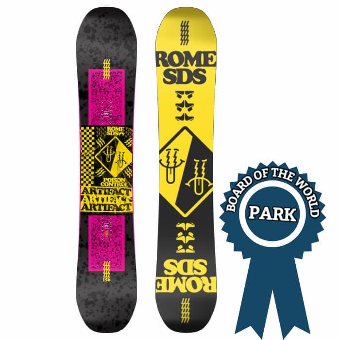 Rome Artifact Park Snowboards