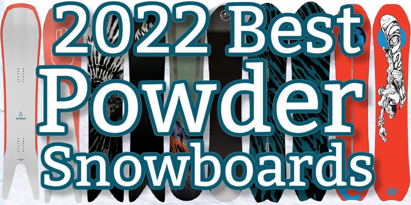 2022 Powder Snowboards
