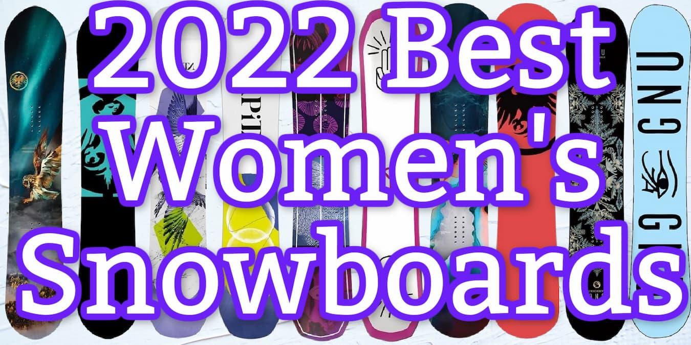 best women's snowboard 2022