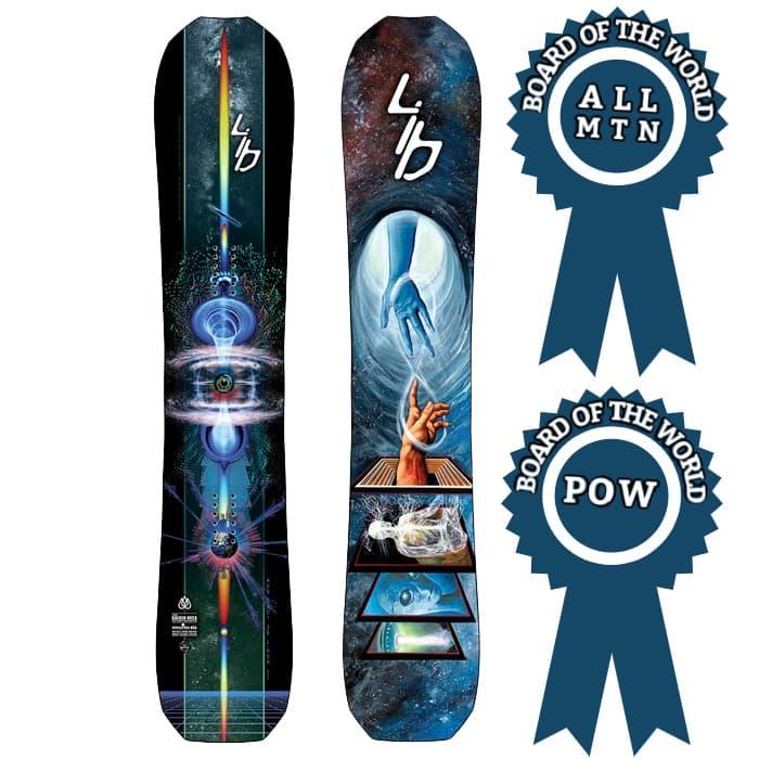 Lib Tech T.Rice Golden Orca Snowboard 2021